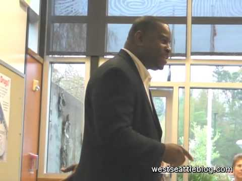 Christopher Williams at West Seattle Crime Prevention Council