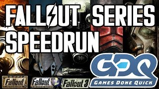 GDQ Submission - Fallout Anthology Any% (Main Series)