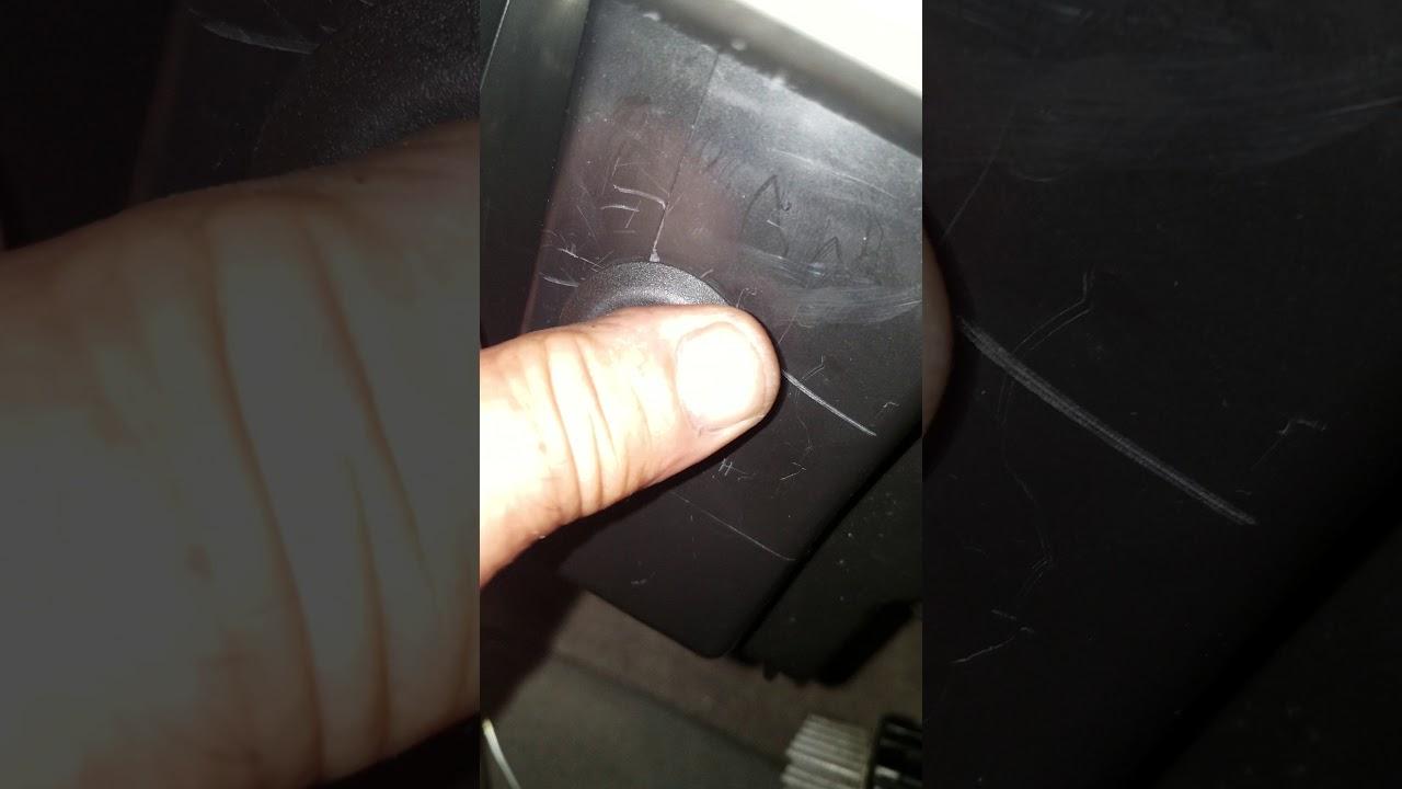 2011 tahoe evap temp sensor replacement - YouTube