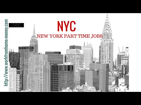 Part Time Jobs in New York City -  Earn a 7 figure income