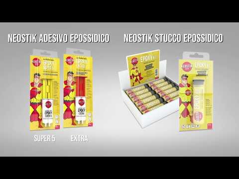 Neostik adesivo e stucco epossidico EPOXY
