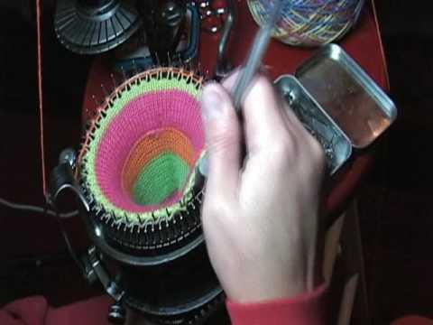 Circular Sock Knitting Machine Instructions Wool Baby Socks