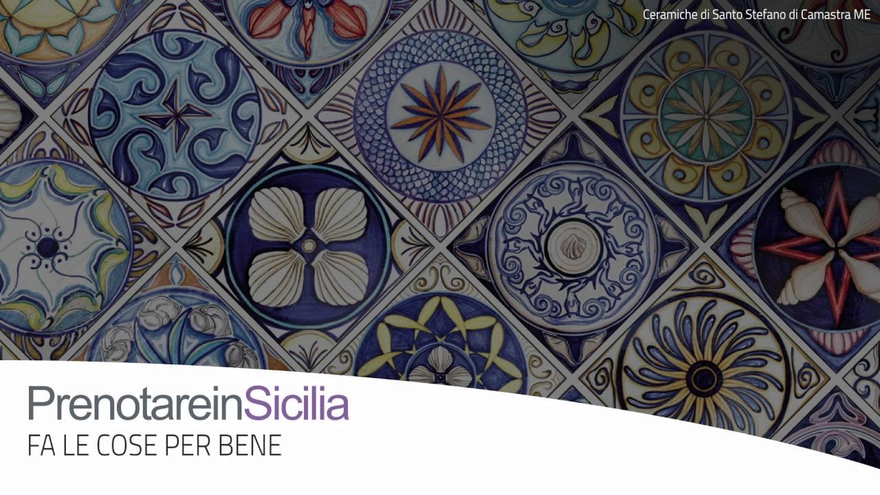 Prenotareinsicilia fa le cose per bene ceramiche siciliane youtube
