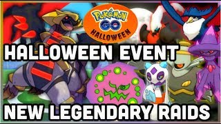NEXT LEGENDARY RAIDS & HALLOWEEN EVENT IN POKEMON GO | GEN 4 SPIRITOMB GIRATINA HONCHKROW & MORE