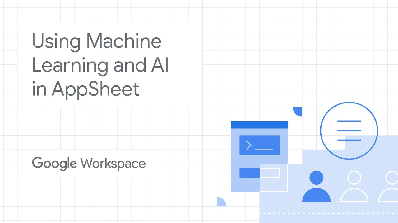 Using Machine Learning and AI in AppSheet