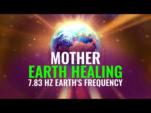 Mother Earth Healing: 7.83 Hz Grounding, Growth, Prosperity, Binaural Beats   Earth's Frequency