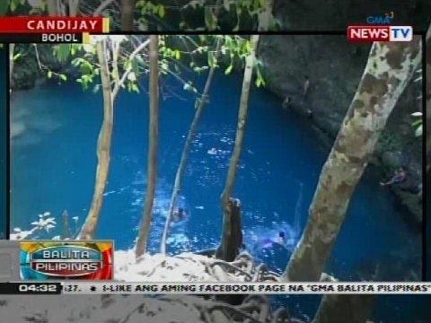 BP: Canawa Spring sa Bohol na hugis kawali, dinarayo