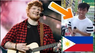 This Guy from the Philippines Sounds like Ed Sheeran