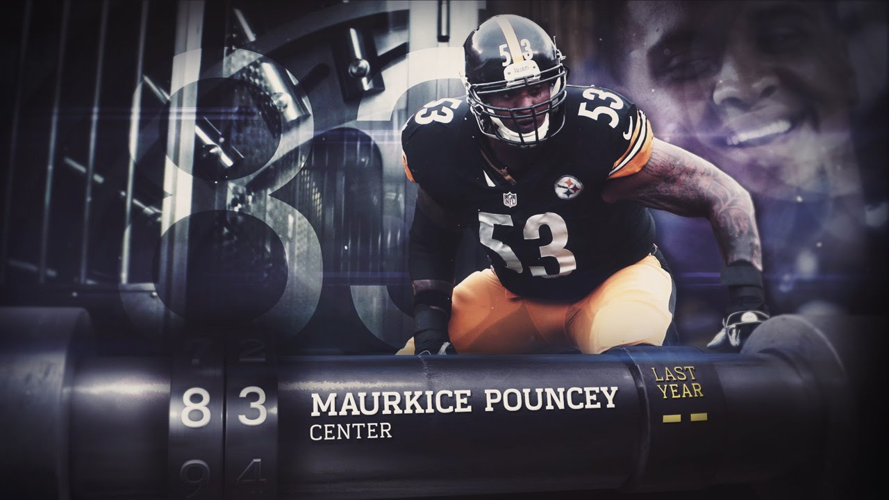 83 Maurkice Pouncey C Steelers