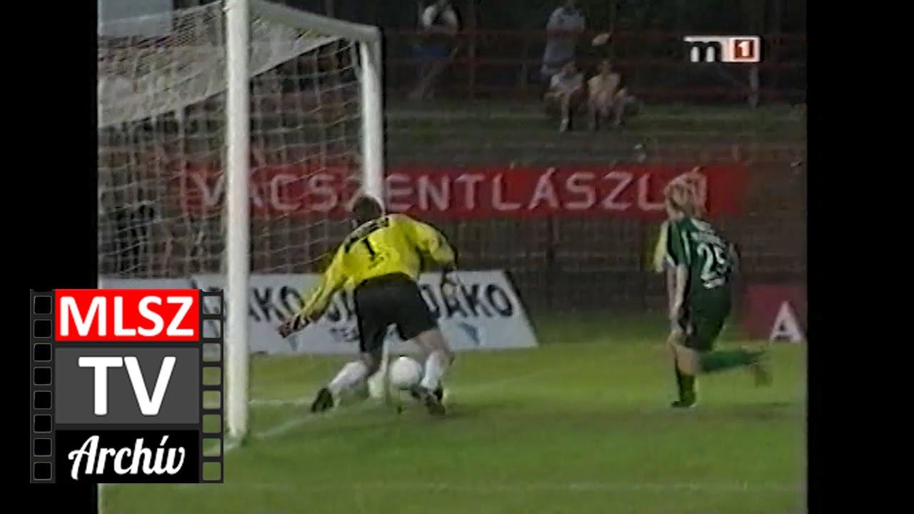 Honvéd-Győri ETO | 1-6 | 2001. 08. 04 | MLSZ TV Archív