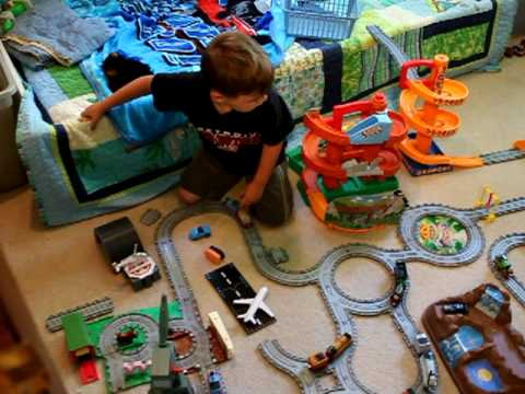 Thomas And Friends Morgan S Mine Amp Carnival Sets Youtube