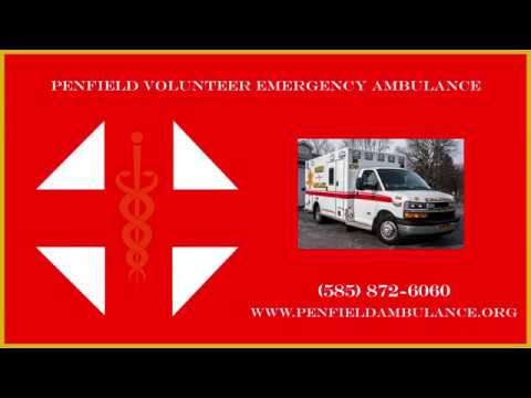 Tour the Penfield Volunteer Emergency Ambulance base
