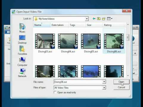 How to convert video to SWF format using AVS Video Converter?