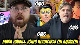 Mark Hamill Joins Invincible on Amazon!!!