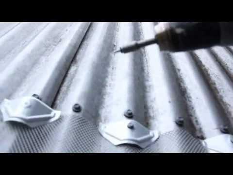 Blue Mountain Aluminium Gutter Mesh Install