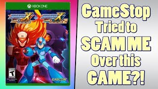 GameStop Tried to Con Me With Mega Man X Legacy Collection