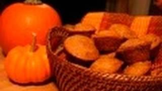 Mini Pumpkin Cranberry Pecan Muffins: Nothin' But Muffins #20