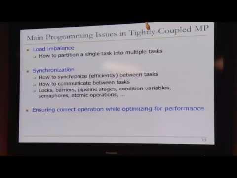 Lecture 27. Multiprocessors - Carnegie Mellon - Computer Architecture 2015 - Onur Mutlu