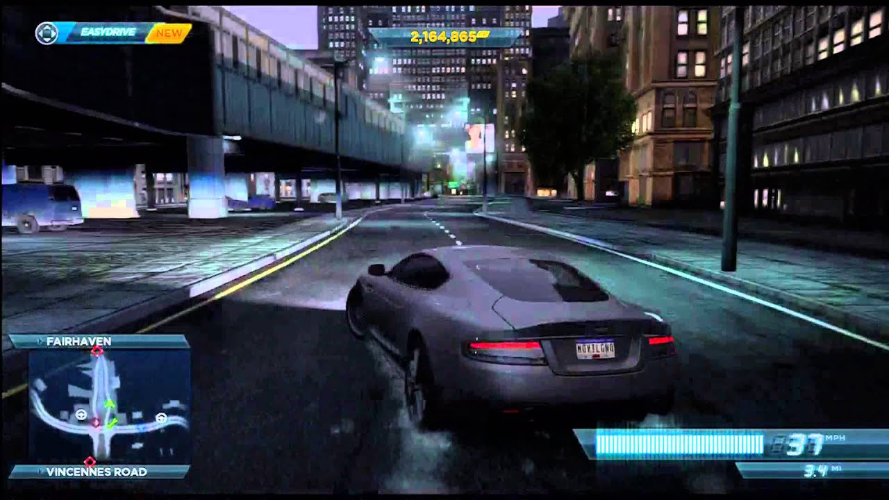 need for speed most wanted - aston martin dbs gameplay - youtube