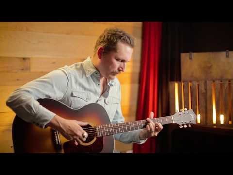 Guild F-40 Acoustic Guitar Demo