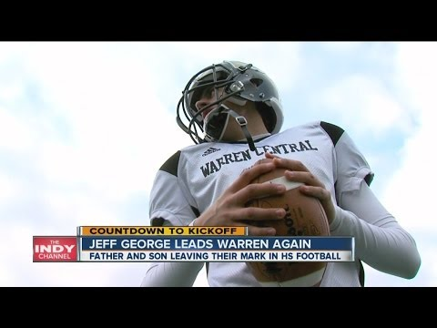 Warren led by QB Jeff George twice in 28 years