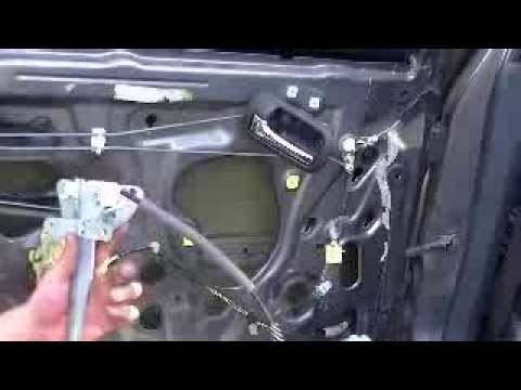 Window Motor And Regulator Replacement On 2004 Honda Civic 4 Dr Rear Driver Side