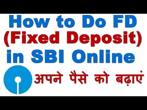 How to Do Fixed Deposit (FD) in SBI Online Through Net Banking (FD करके ऐसे बढायें अपना पैसा)