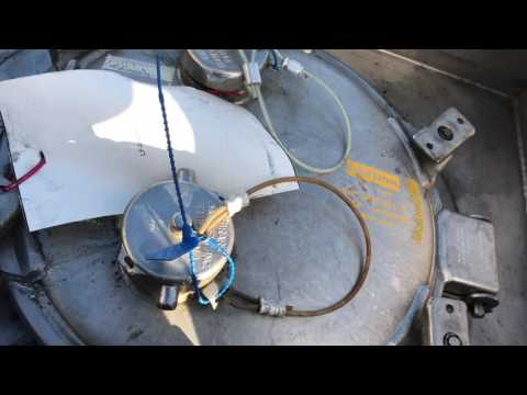 Top View Of A Bulk Tank Trailer and Some Safety Tips