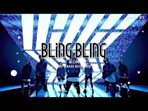 [3D+BASS BOOSTED] iKON (아이콘) - BLING BLING | bumble.bts