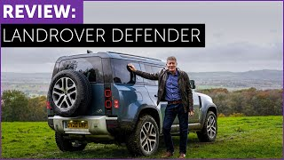 New Land Rover Defender. On road. Off road. With Tiff Needell