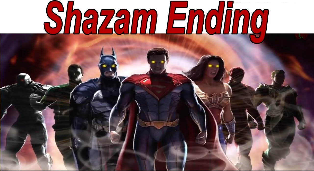 injustice gods among us shazam ending relationship