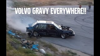 HUUUGE VOLVO DRIFTS IN MEXICO !