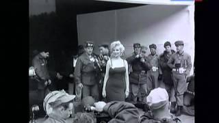 Мэрилин Монро в Корее. 1954 год