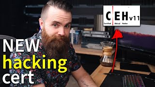 the NEW certified ethical hacker (CEHv11) cert // feat. ITProTV's Daniel Lowrie