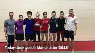 Todays Taekwondo Seminar - Manchester 2018