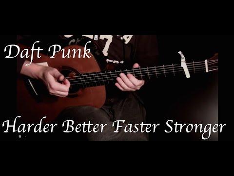Kelly Valleau - Harder Better Faster Stronger (Daft Punk) - Fingerstyle Guitar