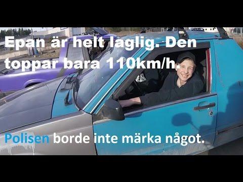 Epa Förare Skrämmer Små Barn! + Volvo Fontän!?! + Längsta bilkön... [Motovlogg]