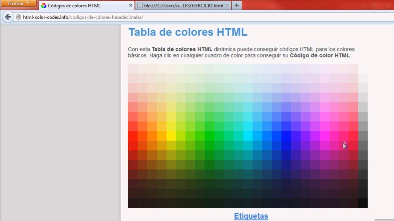 Aplicando CSS a un Documento HTML(Color de Fondo de la Pagina) - YouTube
