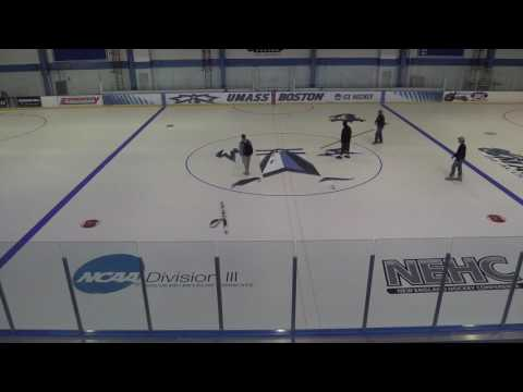 Edward T. Barry Ice Rink: 2016 Making The Ice
