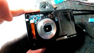 Ремонт фотоаппарата. Замена объектива.
