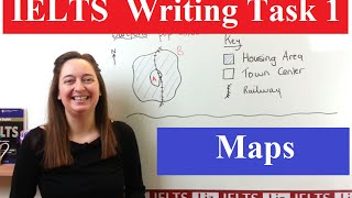 IELTS Writing Task 1 Map Vocabulary