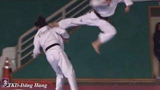 Taekwondo 2017   Taekwondo nguy hiểm - Sân khấu đỉnh cao   TKD-Đăng Hùng