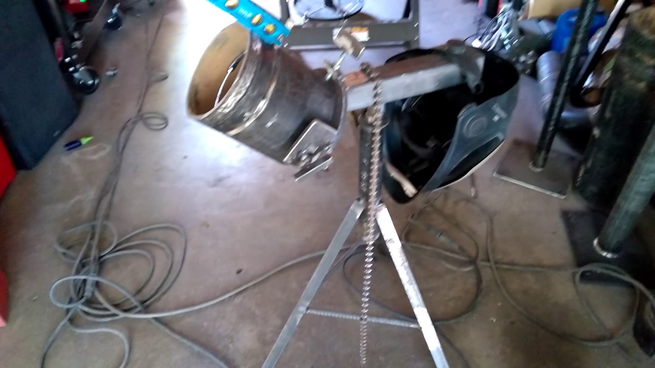 Pipe Jack Stands >> Custom 6g pipe stand - YouTube
