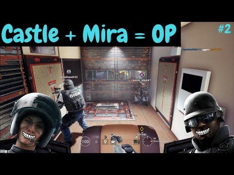 Mira/Castle Strat #2 - Rainbow Six Siege