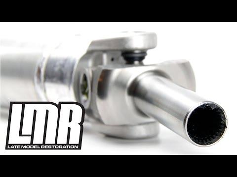 Mustang Aluminum Driveshaft -- Ford Racing M-4602-G (79-04 28 Spline)