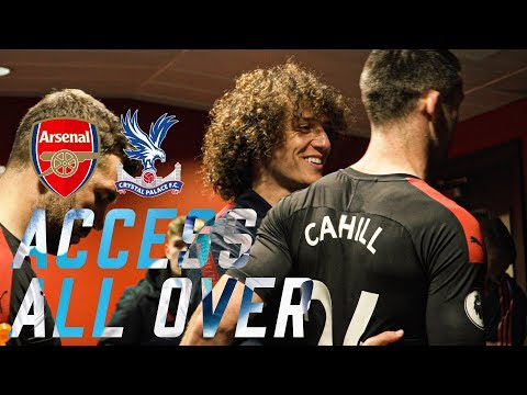 ACCESS ALL OVER | Arsenal 2 -2 Crystal Palace PITCHSIDE