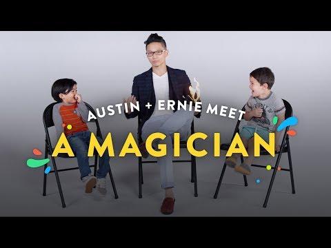 Kids Meet a Magician (Austin & Ernie) | Kids Meet | HiHo Kids