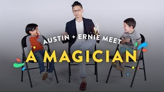 Kids Meet a Magician Austin Ernie Kids Meet HiHo Kids
