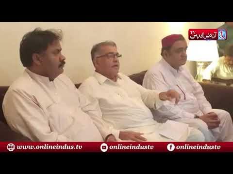 GDA Leader Khair Muhammad Khokhar  holds a Press conference