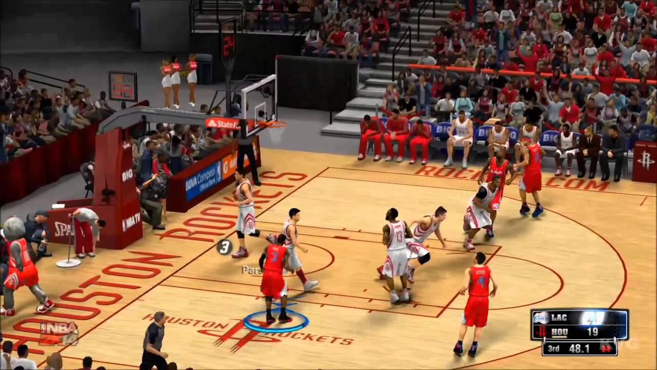 54da9e789e2 NBA 2K14 - Los Angeles Clippers vs Houston Rockets Gameplay  HD ...